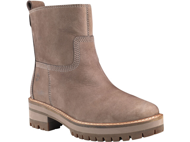 Timberland Courmayeur Valley Faux Fur Botas Mujer, taupe gray